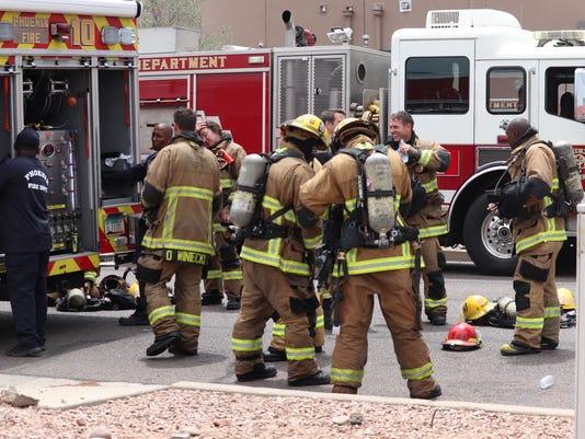 Fire at Metro Med Dispensary