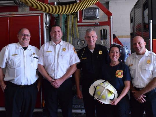 Battle Creek Fire Department Battalion Chiefs Marty