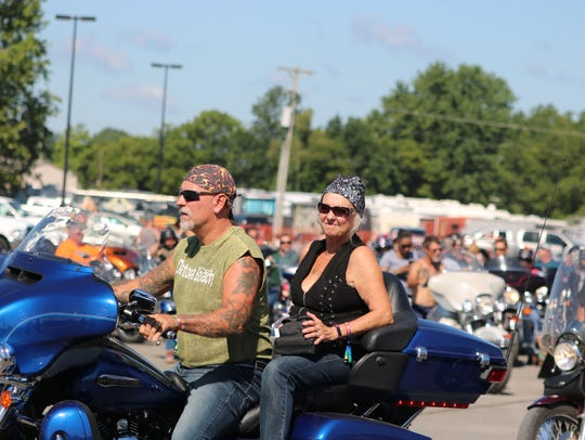 This couple began their journey at the fairgrounds