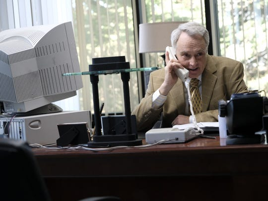"Bradley Whitford stars as Netscape pioneer James Barksdale in National Geographic's ""Valley of the Boom."""