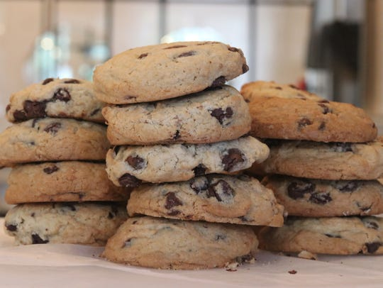 Chocolate chip cookies at The Cold Spring Coffee Pantry.