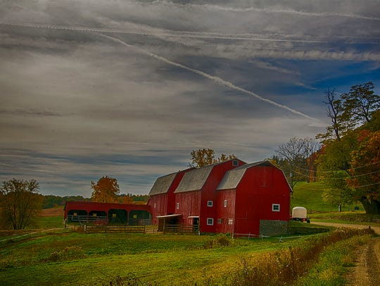 "Doug Worboys: ""A barn in the Dansville area on a rural road on a wonderful fall morning."" Doug Worboys, who lives in Greece, has had an interest in photography since he learned how to develop film from his teacher, Mr. Doug Ladd, at Greece Olympia High School."