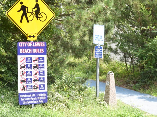 While the beach between Roosevelt Inlet and Savannah Road in Lewes is open to the public, neighbors say people taking advantage of free parking are causing problems by ignoring rules.