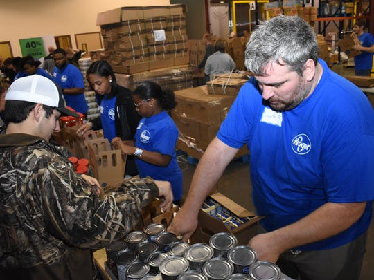 The Food Bank of Central Louisiana is seeking volunteers in good health to help pack boxes. Those interested in volunteering can call (318) 445-2773 to schedule a time.