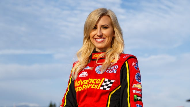 Courtney Force is ranked third in the Funny Car standings heading into this weekend's season finale.
