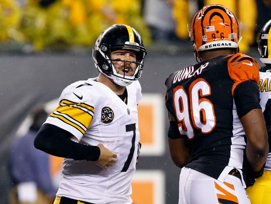 USP NFL: PITTSBURGH STEELERS AT CINCINNATI BENGALS S FBN CIN PIT USA OH