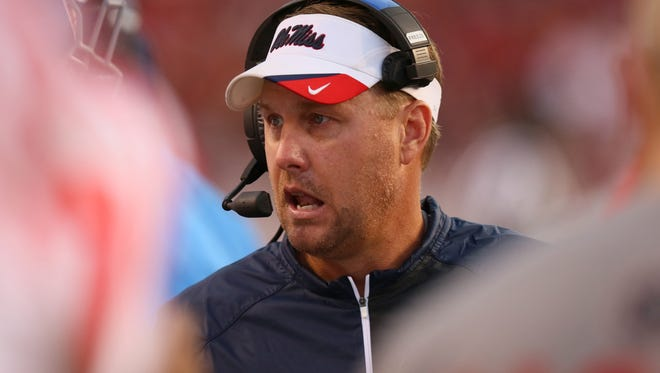 Ole Miss coach Hugh Freeze has a big decision on his hands in regard to his starting quarterback.