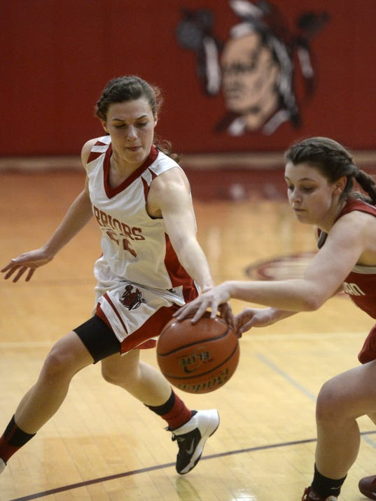 Makenzie Fancher, left, and Susquehannock moved up to No. 1 in the District 3 Class AAA ratings this week. They also are No. 2 in our YAIAA power rankings. (GAMETIMEPA.COM -- KATE PENN)