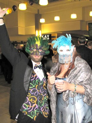 Revelers from last year's Mall Ball. The 2015 event will be Jan. 24.