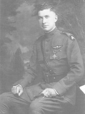 Portrait of 1st Lt. James A. McDevitt during World War I.