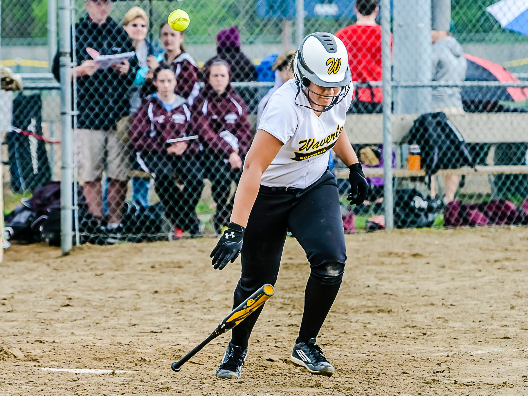 Waverly's Mikailah Jackson ranks among the area leaders in home runs and also strikeouts.