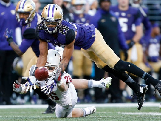 Washington's Kevin King is 6-foot-3 which makes him one of the biggest corners in the draft.