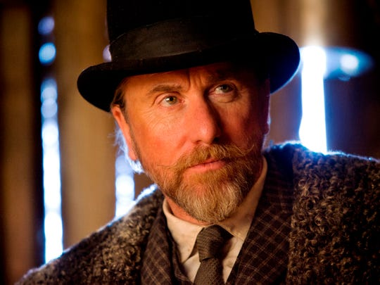 """Tim Roth in a scene from the film """"The Hateful Eight."""""""