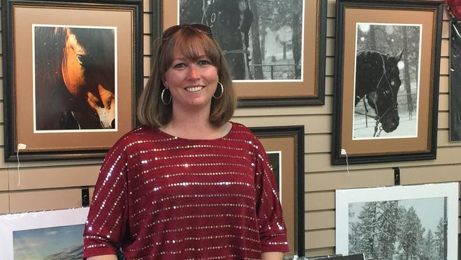 Local artist Stephanie Kennedy owns Coach House Gallery at 2301 Sudderth Dr. in midtown.