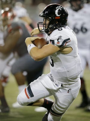 Quarterback Hayden Moore and the Cincinnati Bearcats will try to snap a five-game losing streak Saturday, when UC visits Tulane.