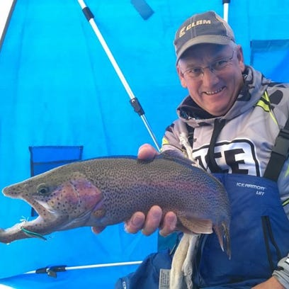 Master the ups and downs for more rainbow and brown trout