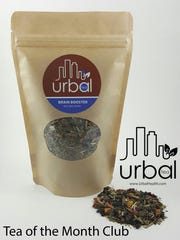 "Urbal Tea's ""Brain Booster"" blend contains gotu kola, ginkgo, Rosemary, sage and more."