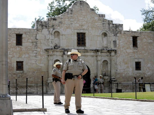Vandal Carves Name Into Alamo With Car Key