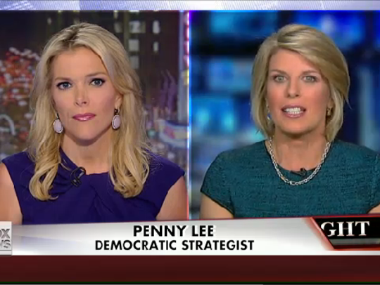 Penny Lee appeared on Fox News on Aug. 27, 2014, to