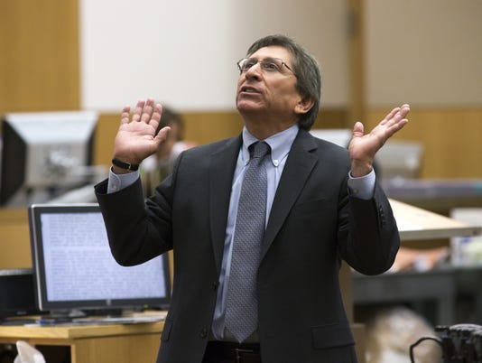 Juan Martinez admonished