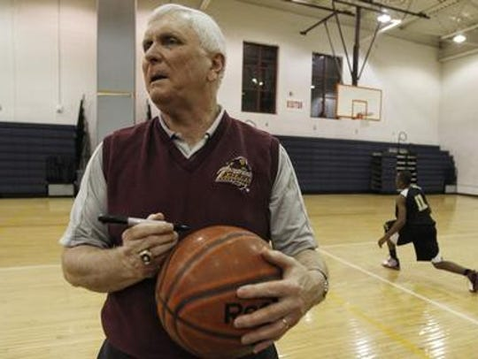 St. Anthony High School coach Bob Hurley continues
