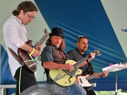 Jimmi and the Band of Souls performs Saturday at Big Bull Falls Blues Fest at Fern Island in Wausau.