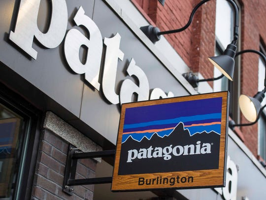 The Patagonia store in Burlington on Monday, March