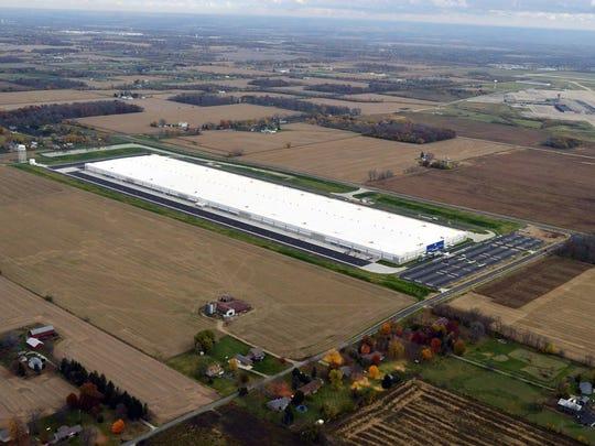 Procter & Gamble's distribution center outside of Dayton,
