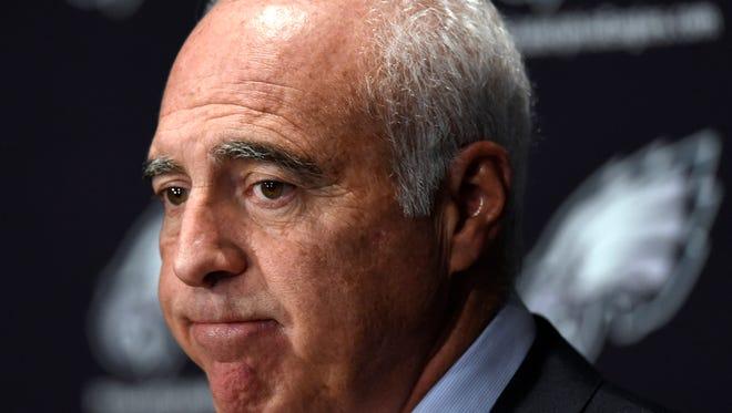 Philadelphia Eagles owner Jeffrey Lurie says his next coach needs good people skills.
