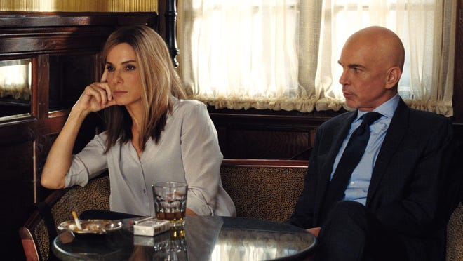 """Sandra Bullock and Billy Bob Thornton as star in the satirical comedy """"Our Brand Is Crisis."""""""
