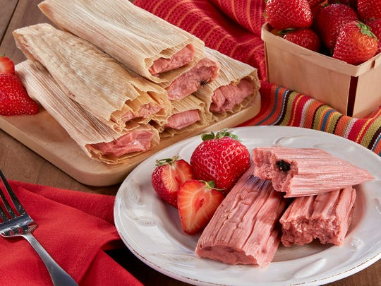 The strawberry tamales at Food City.