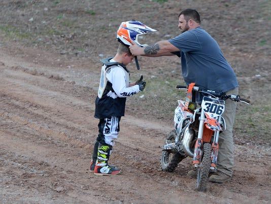 Fawn Grove boy preps for spring motocross season