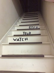 Would you walk up this staircase?