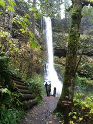 The state park is home to 10 stunning waterfalls accessible