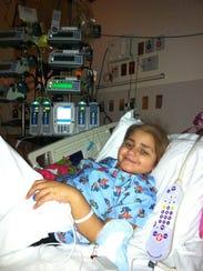 Maryam Rasheed of Macomb Township undergoes treatment