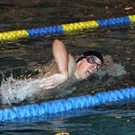 Henry Taibi of Randolph swims the 400-meter freestyle at an NJSIAA North 1-A semifinal in 2014.