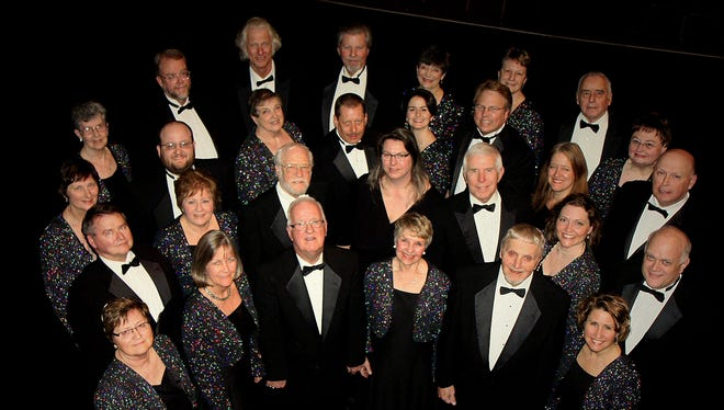 "The Towne Singers will sing ""The Sound of the Season"" at three concerts in three different churches in December."
