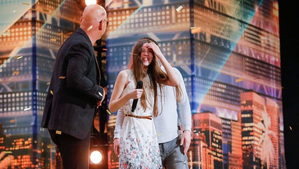 'America's Got Talent' judge Howie Mandel with contestant