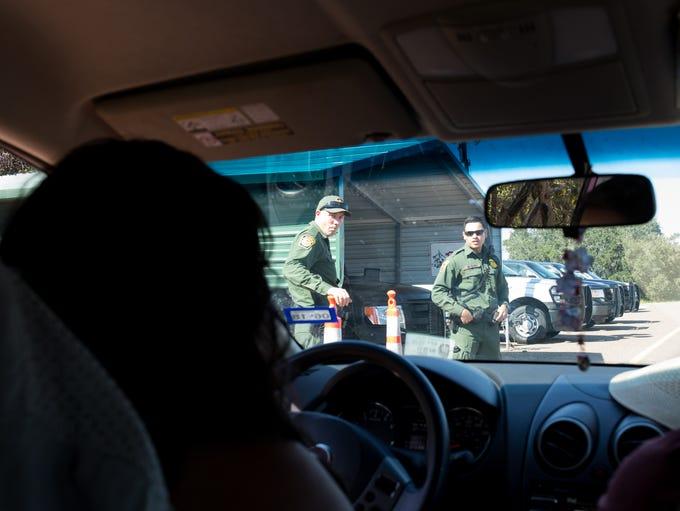 DACA recipient Maria Hernandez on her way to Kingsville