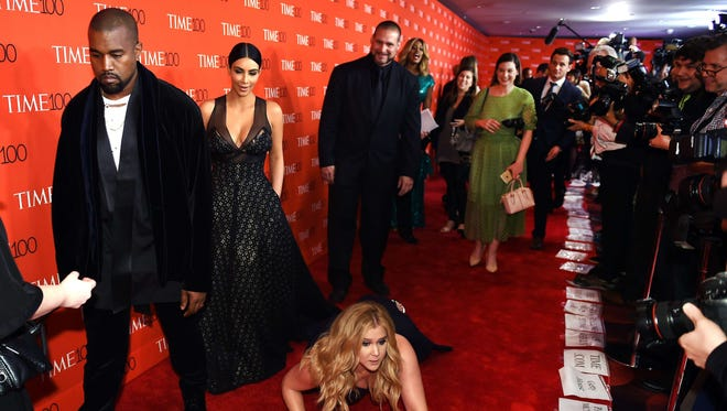 Don't worry, Kimye. Amy Schumer is fine!