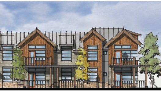 A rendering of the Village on Horsetooth, 96 units proposed by the Fort Collins Housing Authority.