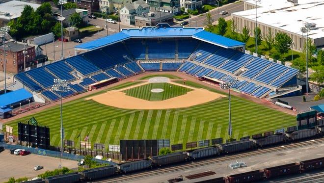 NYSEG Stadium in Binghamton