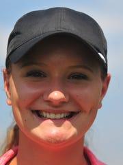 Jacey Cornett of the Richmond High School girls golf team
