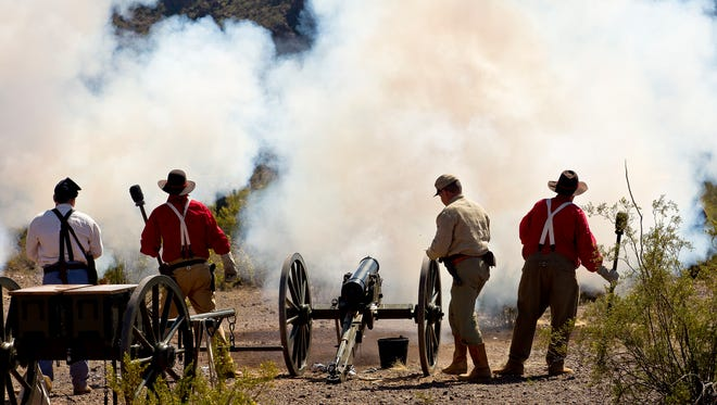 Three battles that took place in Arizona and New Mexico will be reenacted at Civil War in the Southwest at Picacho Peak State Park.
