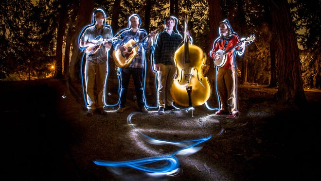 Portland bluegrass band Cascade Crescendo will play a free, 21-and-older show 9 p.m. Jan. 9 at Venti's Taphouse.