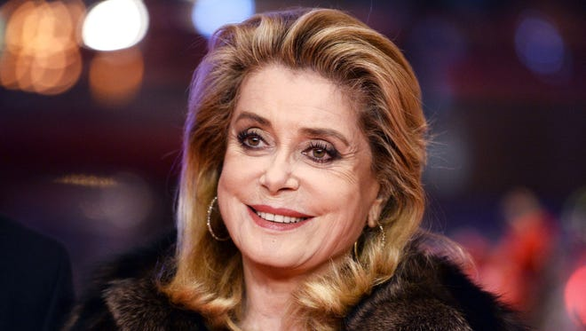 Catherine Deneuve on Feb. 14, 2017, at the Berlinale film festival in Berlin.