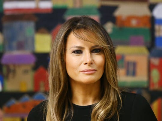 First lady Melania Trump visits Southwest Key, an immigrant