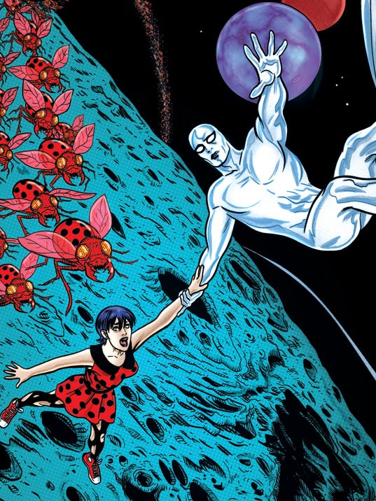 Silver Surfer cover