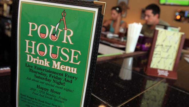 Nyack Pour House on Main Street.
