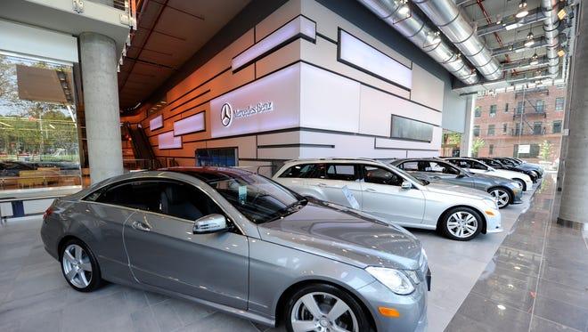 Mercedes-Benz wants dealerships, like Manhattan Mercedes in New York, to send their staffs to an immersion program.